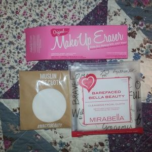 MakeUp Eraser & 2 Other Facial Cloths(see descrip)